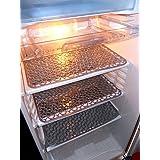 Kuber Industries Refrigerator Drawer Mat / Fridge Mat Set Of 6 Pcs (Pink)