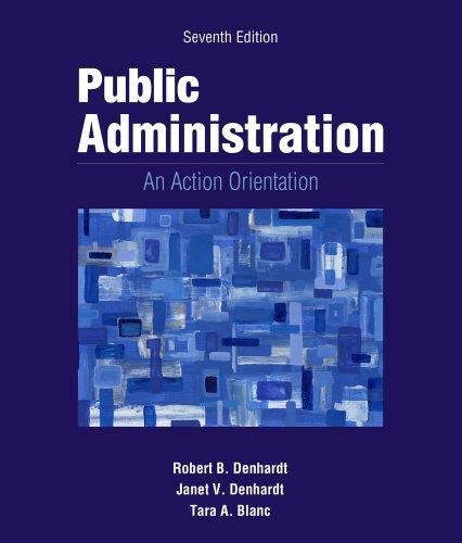 Public Administration: Books