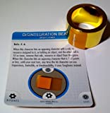 Marvel Heroclix Invincible Iron Man #R100 Power Plant Limited Edition Object and #R101 Disintegration Beam Ring with Cards