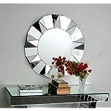 Venetian Design Cut Design Wall Mirror