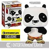 Kung Fu Panda Flocked Po Pop! Vinyl Figure - EE Exclusive