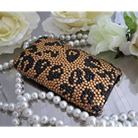 Handmade Crystal Iphone Case 3g/ 3gs Leopard