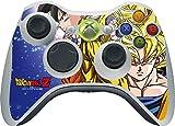 Dragon Ball Z Xbox 360 Wireless Controller Skin - Dragon Ball Z Goku Forms Vinyl Decal Skin For Your Xbox 360 Wireless Controller