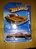 Hot Wheels '67 Pontiac GTO 6/10 Faster than ever 2010 134/240 (orange)