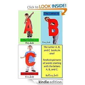 Letters A, B, C bundle (Letters of the Alphabet (A) (B) (C))