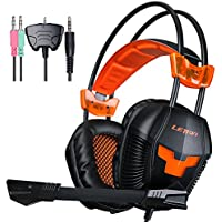 LETTON G20 Gaming Headset Multi Function Pro Game Headphones With Microphone For PS4/ Xbox360 /PC/ IPhone /Smart...