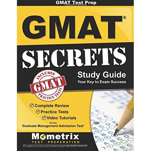 Study Guide: Gmattest Prepgmatsecrets: Complete Review, Practice Tests, Video
