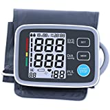 Automatic Digital Upper Arm Blood Pressure Monitor, FDA Approved, XREXS Adjustable Cuff Electronic Sphygmomanometer...
