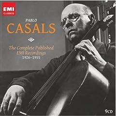 Pablo Casals: The Complete EMI Recordings(9枚組)のAmazonの商品頁を開く
