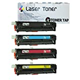 Toner Tap Compatible Set For Use In HP Color LaserJet Pro 200 M251NW M276NW Replace HP CF210X CF210A CF211A CF212A...