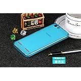 BEST DEALS - Premium Silicon Soft Back Case Cover For Lenovo Vibe K5 Plus / Vibe K5 / Lemon 3 - Blue