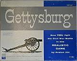 Avalon Hill Gettysburg Vintage 1958 game of Civil War Battle