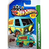 2012 Hot Wheels Hw Imagination - The Mystery Machine Scooby-Doo!