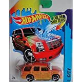 HOT WHEELS 2014 RELEASE COLOR SHIFTERS CITY SERIES 07 CADILLAC ESCALADE DIE-CAST