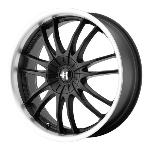 Helo HE845 Gloss Black Wheel With Machined Face (17×7.5″/5×115, 120mm, +42mm offset)