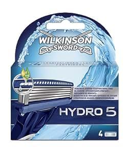 Wilkinson Sword Hydro 5 Klingen, 4 Stück: Amazon.de