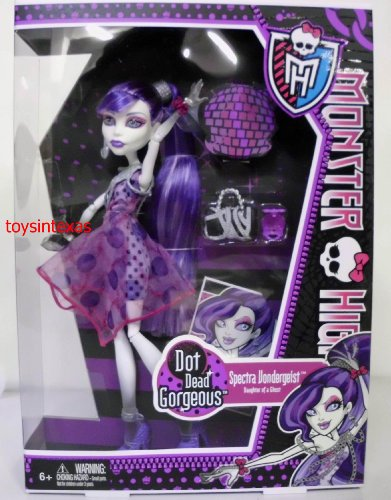 mattel x  monster	high doll spectra