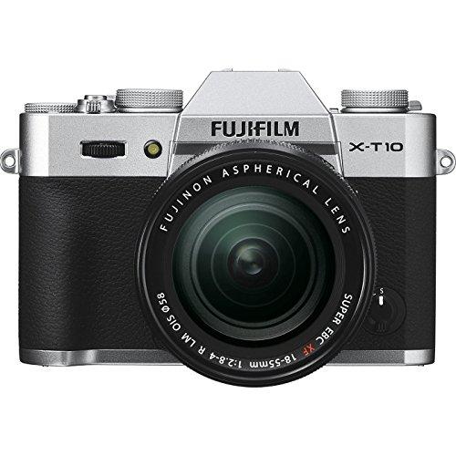 Fujifilm X-T10 con zoom 18-55 mm