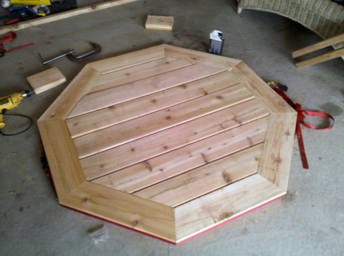 Octagon Outdoor Table Plans DIY Woodworking - Octagon shaped picnic table