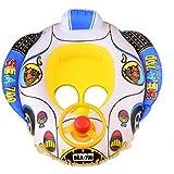 MagiDeal Novel Baby Kid Float Seat Boat Swim Swimming Ring W/ Horn Water Swimming Pool Beach Toys