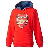 2015-2016 Arsenal Puma Fan Hoody (Red) - Kids