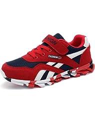 DADAWEN Boy S Girl S Athletic Velcro Strap Casual Running Shoe Sneakers Toddler Little Kid Big Kid