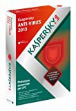 Kaspersky AntiVirus 2013 Italian Edition. 1-Desktop 1 year Base Box