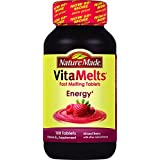 Nature Made Vitamelts Energy Tablets, Mixed Berry, 100 Count