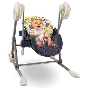 Amazon.com : Fisher-Price Swing to High Chair, Mosaic ...