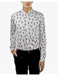 I AM TROUBLE BY KC Men's Button Front Shirt