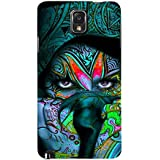 For Samsung Galaxy Note 3 :: Samsung Galaxy Note III :: Samsung Galaxy Note 3 N9002 :: Samsung Galaxy Note N9000 N9005 Famous Girl ( Famous Girl, Face, Nice Face, Beautiful Face ) Printed Designer Back Case Cover By FashionCops