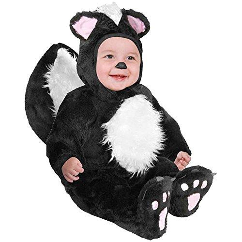 Infant Baby Black Skunk Halloween Costume (6-12 Months)