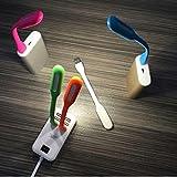 Set Of 4 Piece Mini USB LED Light Adjust Angle / Bendable Portable Flexible USB Light With Usb For Power Bank...
