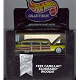 Hot Wheels Collectibles 1959 CADILLAC ELDORADO WOODIE Limited Edition For The Adult Collector 1:64 S