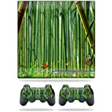 Mightyskins Protective Vinyl Skin Decal Cover For Sony Playstation 3 Ps3 Slim Skins + 2 Controller Skins Sticker...