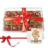 Chocholik Luxury Chocolates - Rocking Nicely Wrapped Choco Treat With Birthday Card