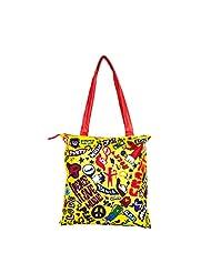 The Crazy Me Music Bug Women's Tote Bag Multicolour - TOTE140