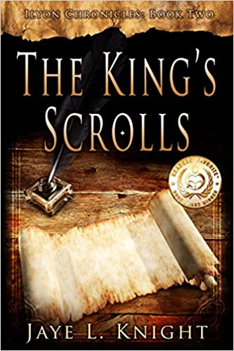 Book Review/Interview: The King's Scrolls, by Jaye L. Knight