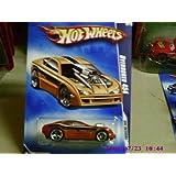 2009 Hot Wheels HW Designs Burnt Orange Overbored 454 W/ OH5SPs #106 (10 Of 10) 1:64 Scale