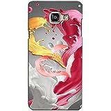 PrintVisa Designer Back Case Cover For Samsung Galaxy On Max (Churning Fluid Arranged Like A Heart)