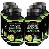 PURE GARCINIA CAMBOGIA 95% HCA 800MG 90 VEG CAPSULES 100% Natural & Pure Maximum Potency ( PACK OF6)