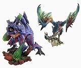 Monster Hunter DX model Statue Monsters 3 MONSTERS3 3G tri Banpresto ( all two full set ) by Banpresto