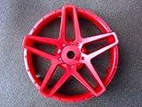 Team-Tetsujin #TT/TT-7581 Super Rim Disc Southern Cross Hot Red 2 Pcs