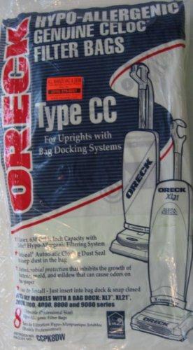 Oreck Commercial CCPK8 Oreck Vacuum Bag