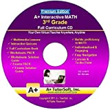 3rd Grade Math Full Curriculum Sw Cd Premium Edition (Windows Pc Video Lessons, Interactive Review, Worksheets...