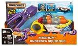 Matchbox Mission: Undersea Squid Sub Playset