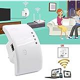 Generic UK Plug : Wifi Booster Repeater Extender Range 300Mbps Wireless AP Router 802.11n UK/EU/US Plug