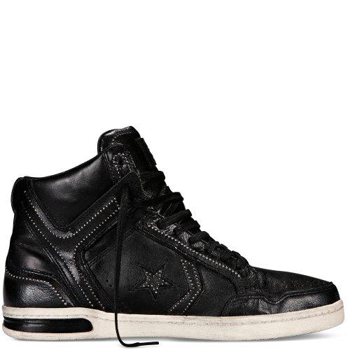 Converse John Varvatos Weapon Mid Men Sneakers Black/Dove 13