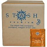 Stash Tea Ginger Breakfast Black Tea, 100 Count Box Of Tea Bags In Foil