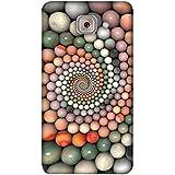 PrintVisa Designer Back Case Cover For Samsung Galaxy On Max (Marble Stones Design Texture Round)
